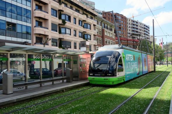 Скоростные трамваи в Бильбао