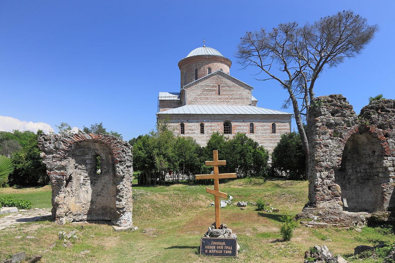 Собор в честь Апостола Андрея Первозванного в Пицунде