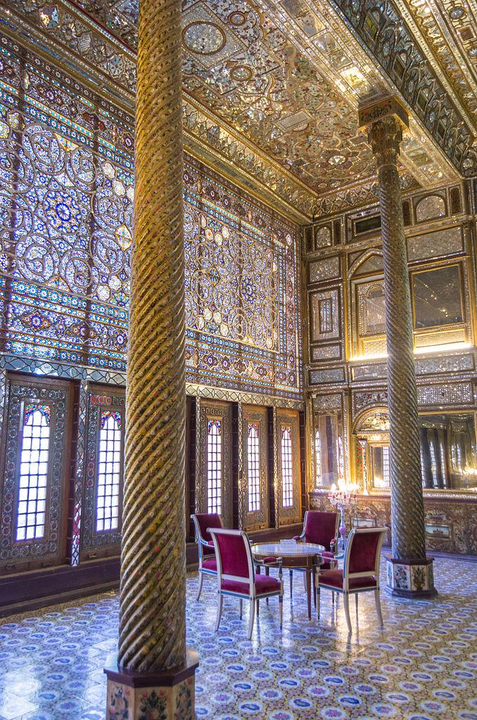 Дворец Голестан, один из залов