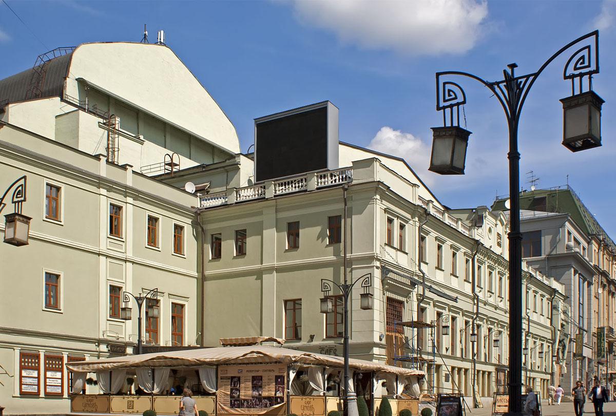 МХТ им Чехова в Москве