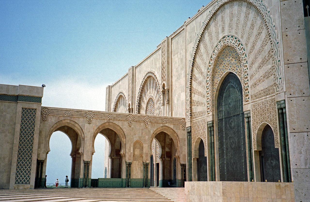Мечеть Хасана II, портал