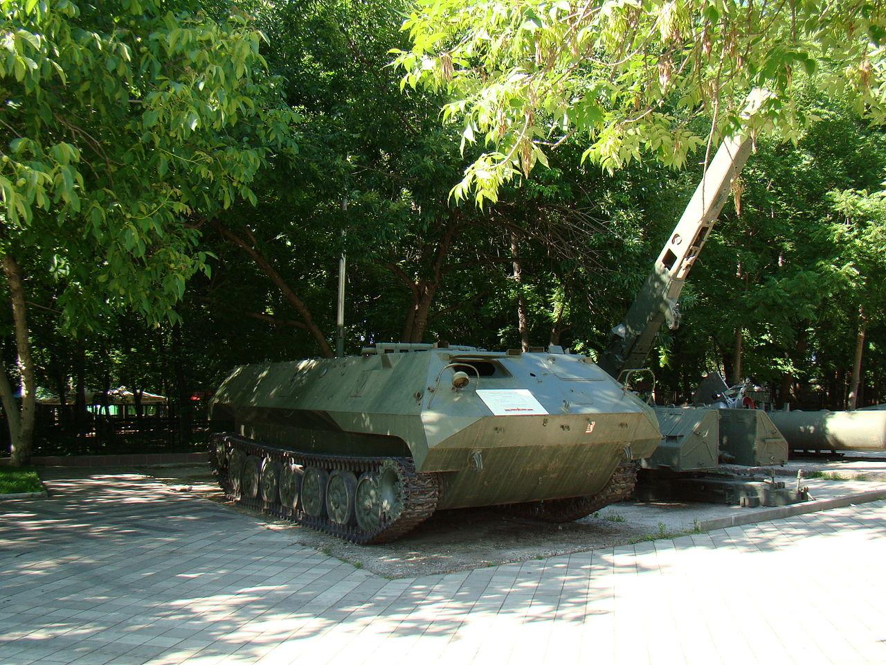 Музей военной техники, парк культуры и отдыха имени 30-летия Победы