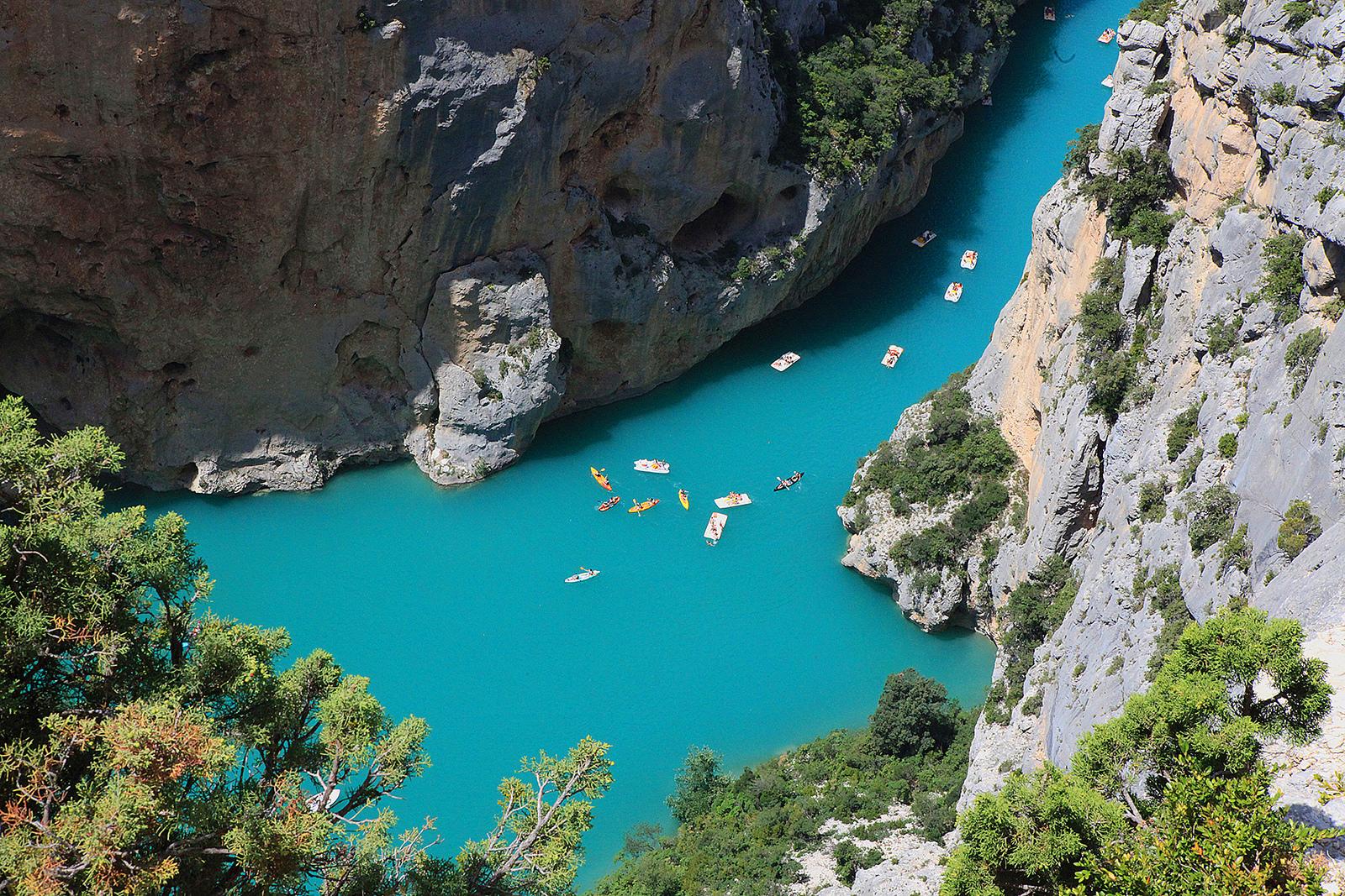 Невероятные природные краски, Вердонское ущелье, Прованс