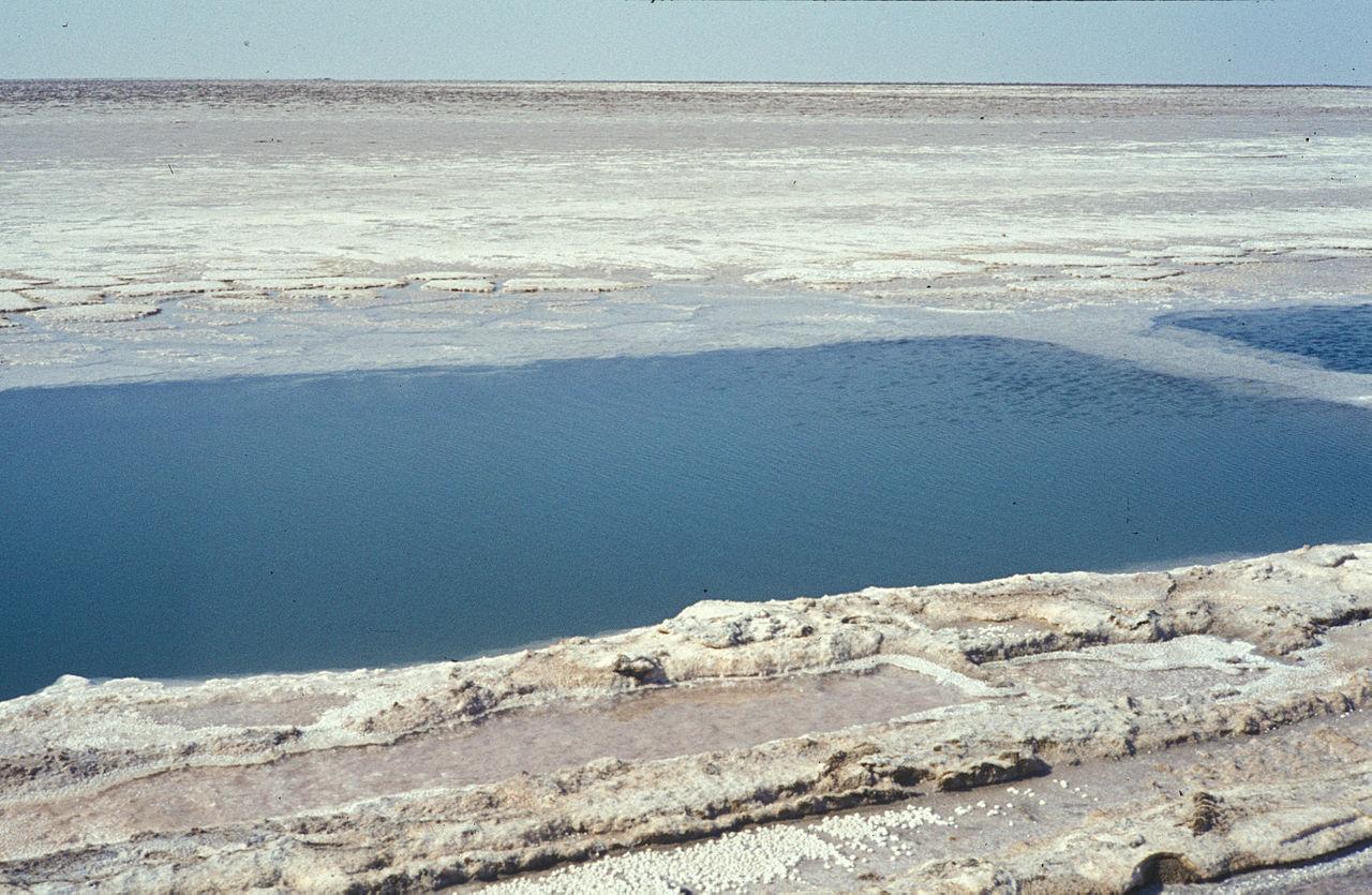 Озеро Шотт-эль-Джерид в Тунисе