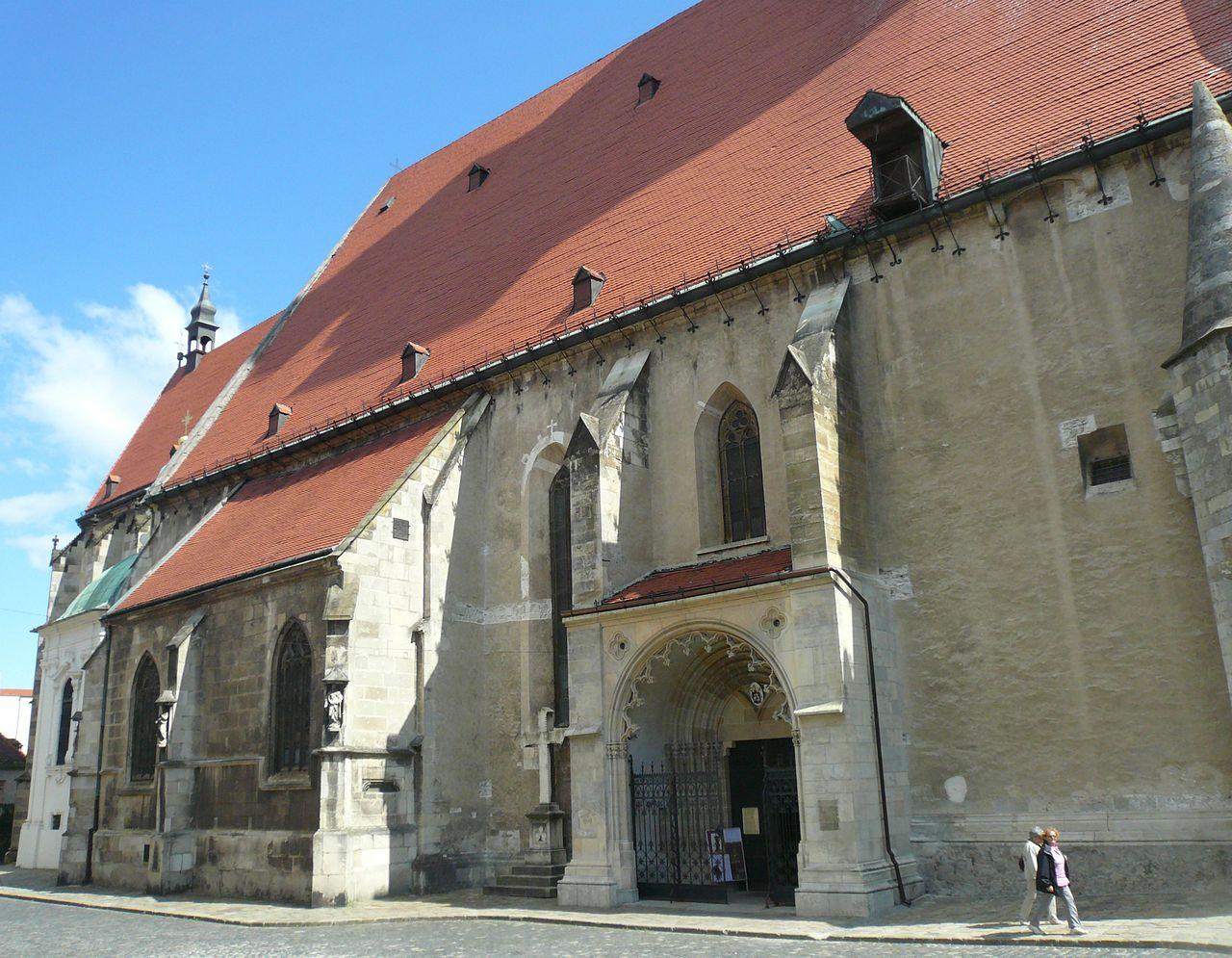 Собор Святого Мартина, вход