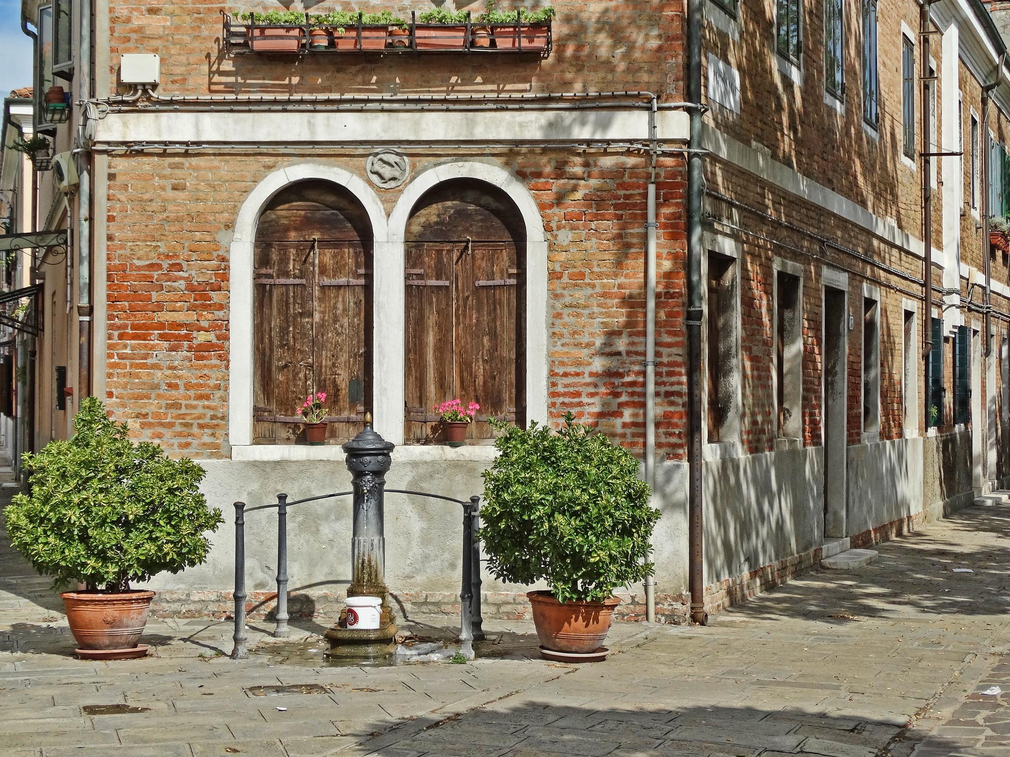 Фонтан в Мурано, Венеция