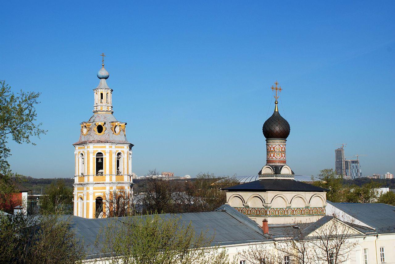 Вид на Андреевский монастырь