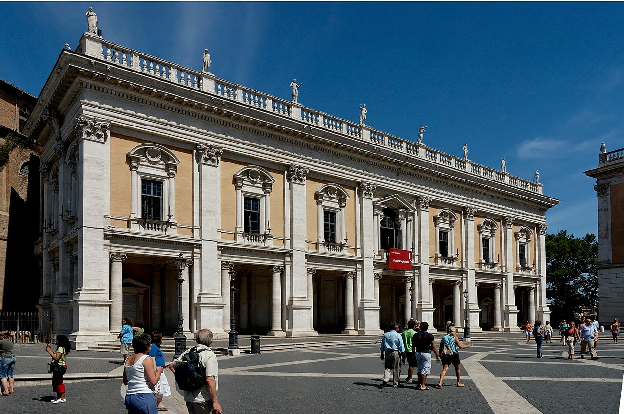 Капитолийские музеи, Палаццо Нуово