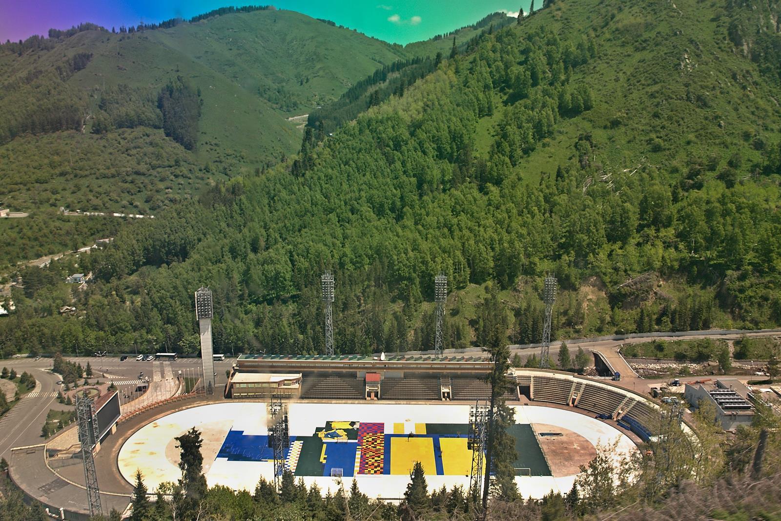Каток Медеу, Алма-Ата