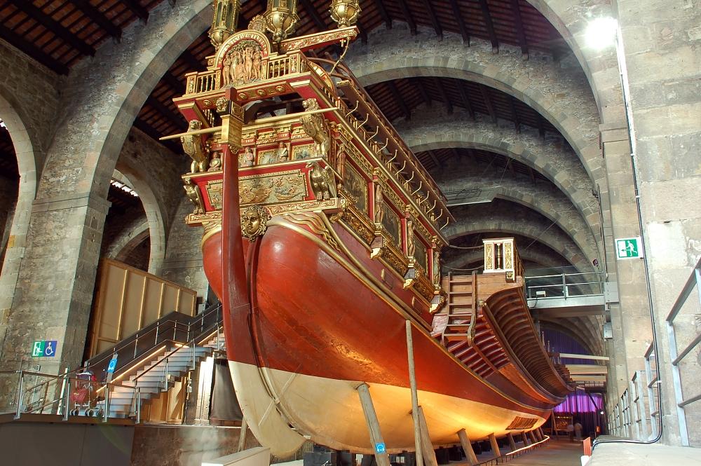 Морской музей Барселоны, галера Real