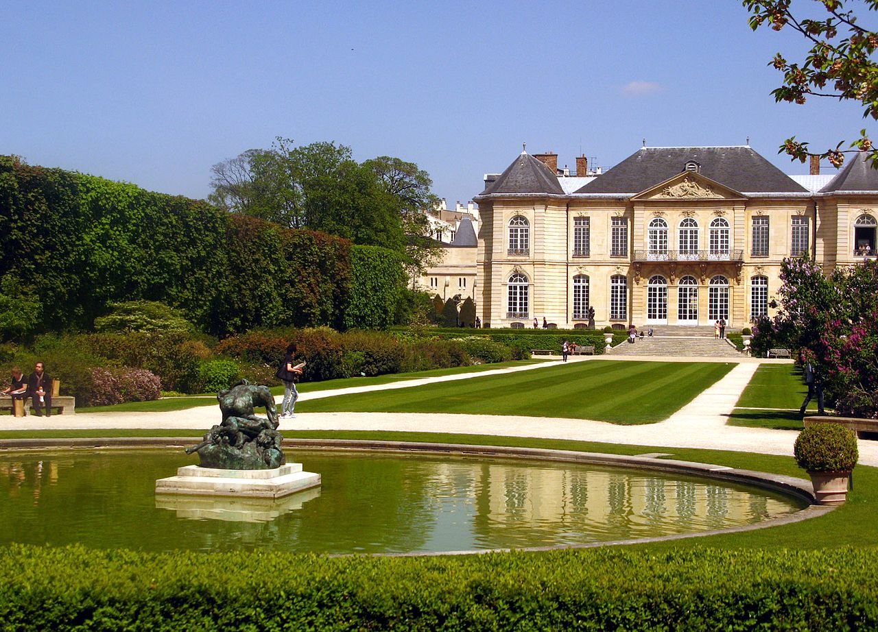 Музей Родена в Париже, пруд
