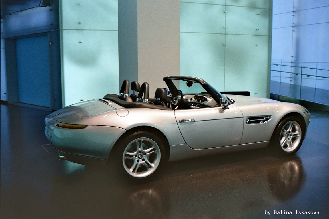Экспонат музея BMW в Мюнхене