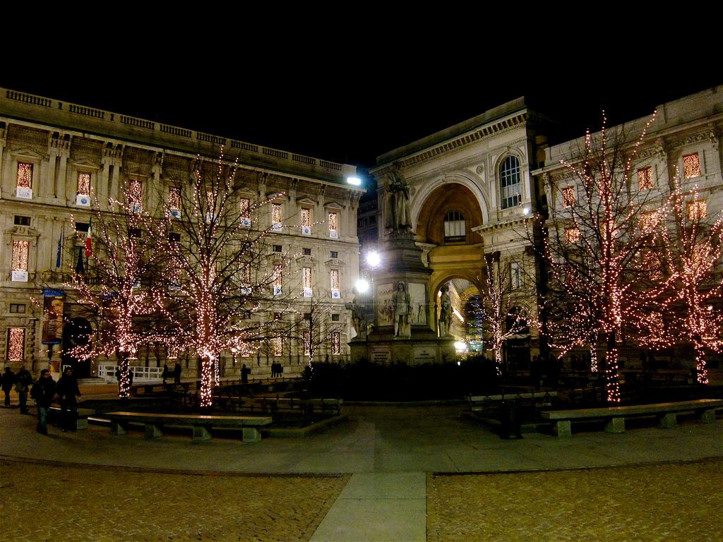 Внутренний двор театра Ла Скала, Милан