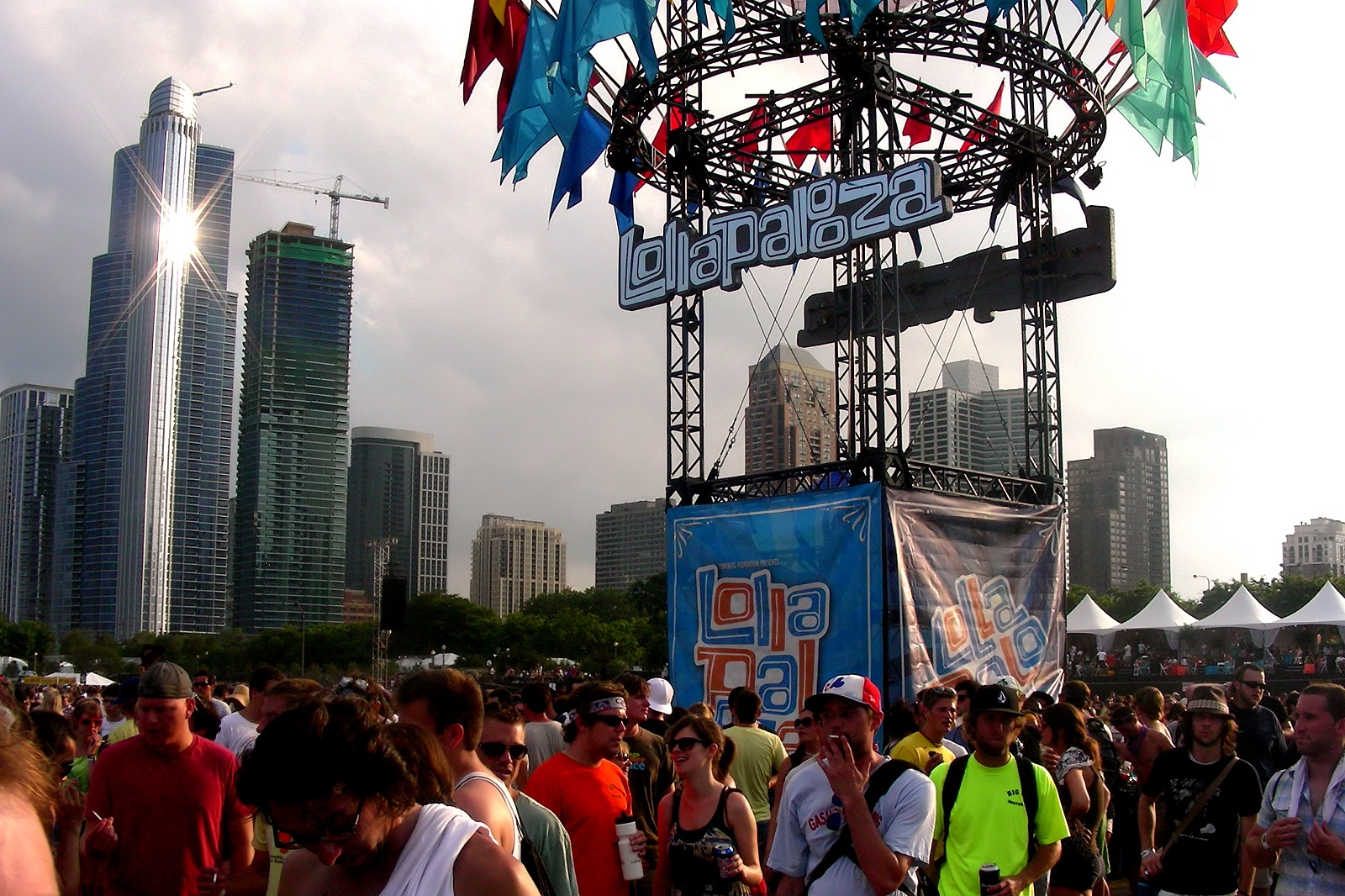 Открытие фестиваля Lollapalooza
