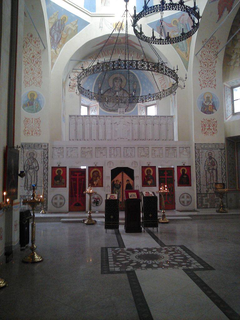 Собор Петра и Павла в Тарусе, интерьер