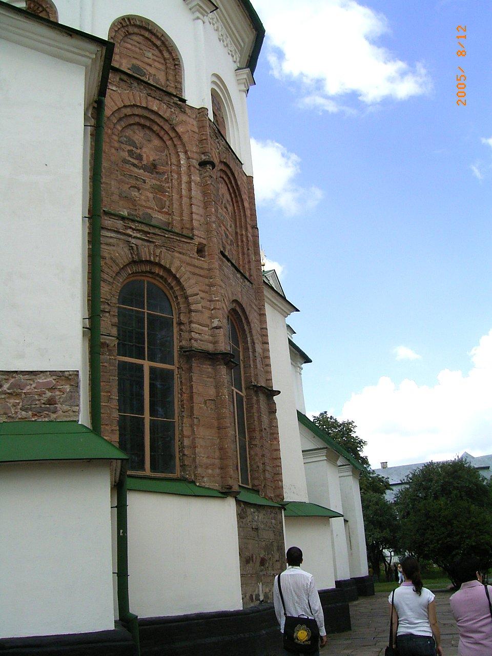 Софийский собор, кладка 11 века