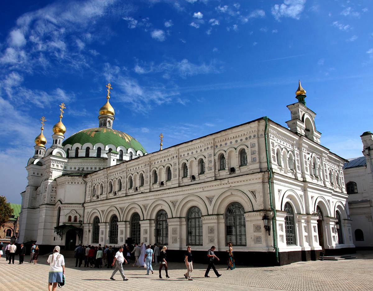 Удивительная Киево-Печерская лавра, Киев, Украина
