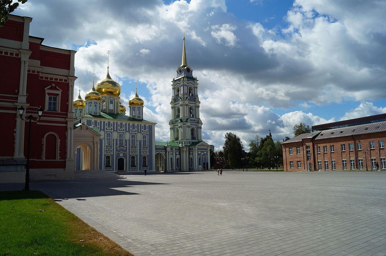 Успенский собор Тульского кремля, площадь