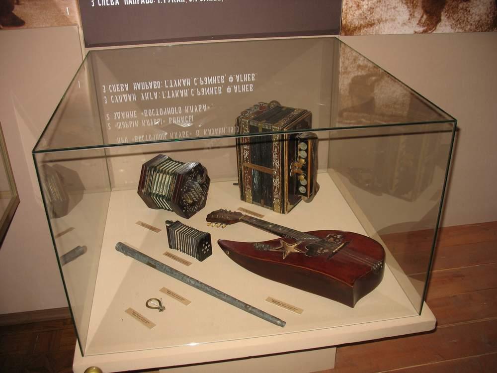 Экспонаты музея Тукая