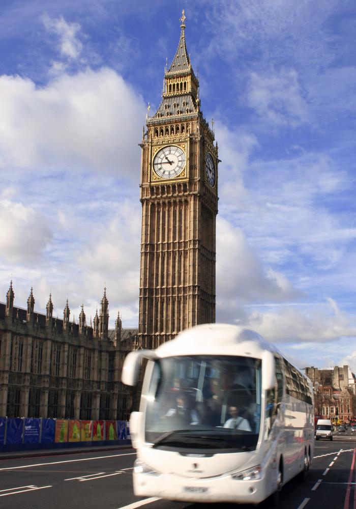 Путешествие на автобусе по британской столице