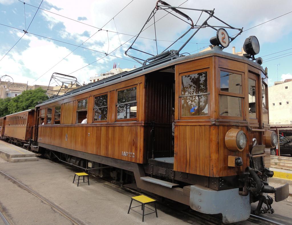 Поезд Пальма-де-Майорка — Сольер