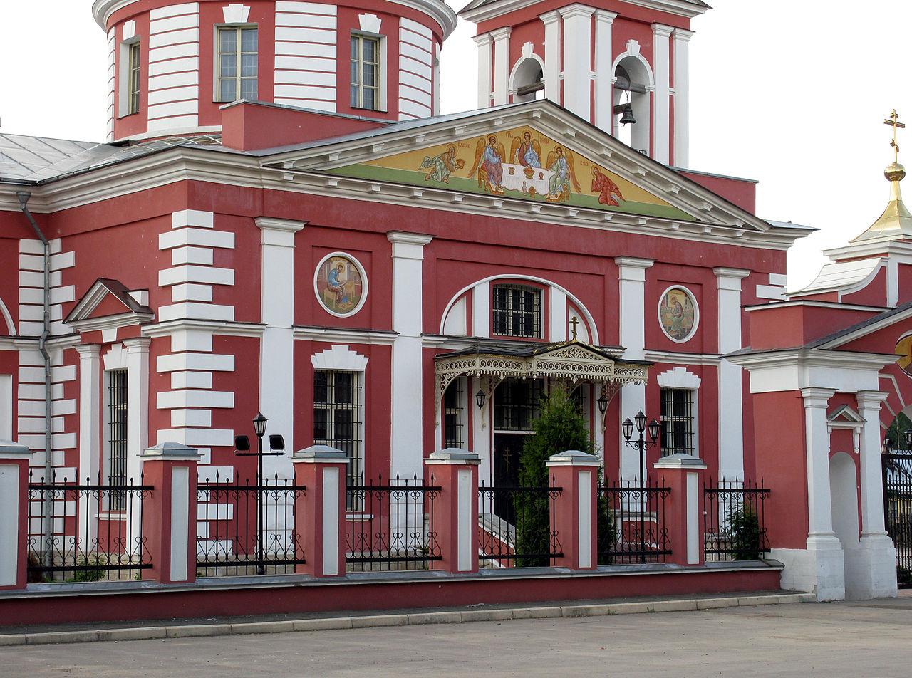 Церковь Сергия Радонежского в усадьбе Алмазово