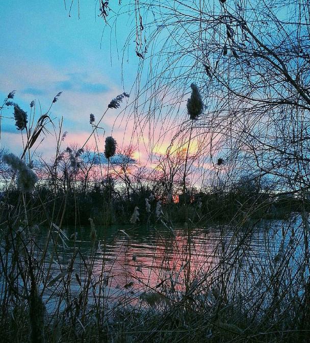 Закат над Солнечным островом