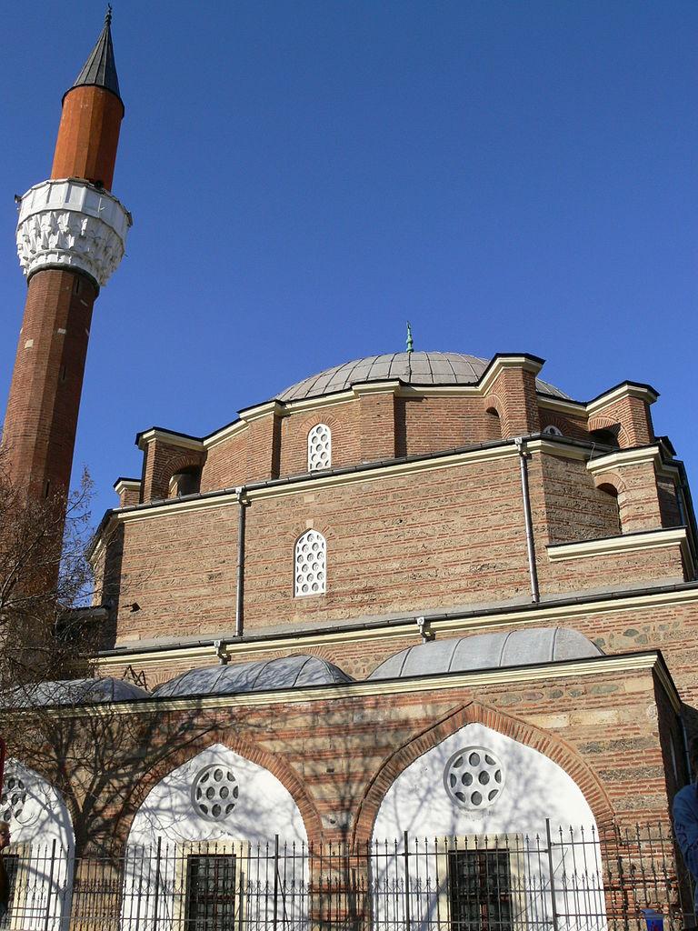 Мечеть Баня-Баши, фасад
