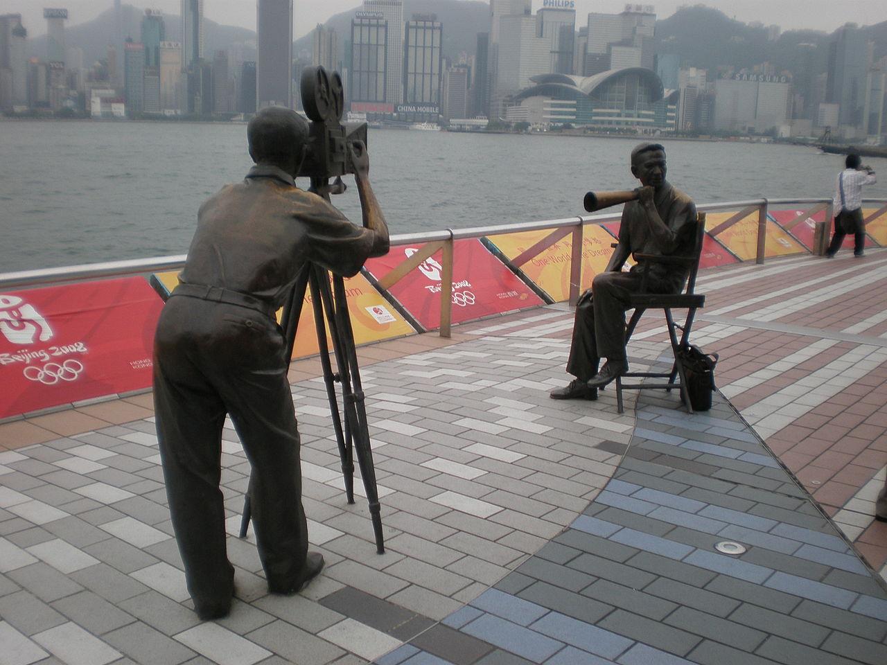 Авеню звёзд в Гонконге, оператор и режисер