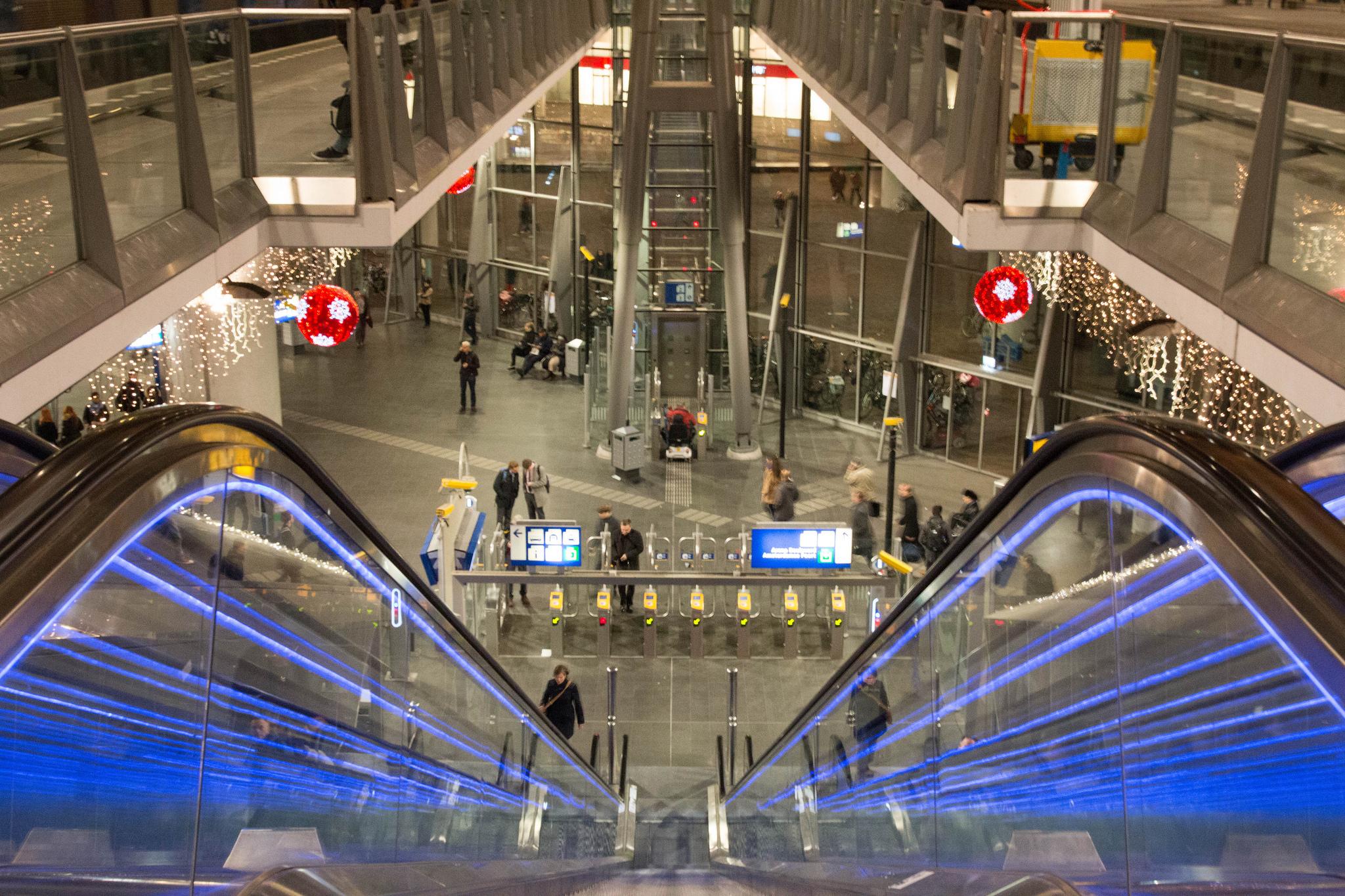 Амстердам Арена, станция метро Амстердам Бейлмер Арена