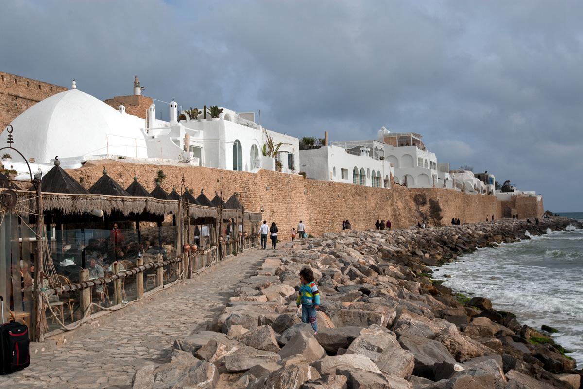 Медина Хаммамета, городская стена