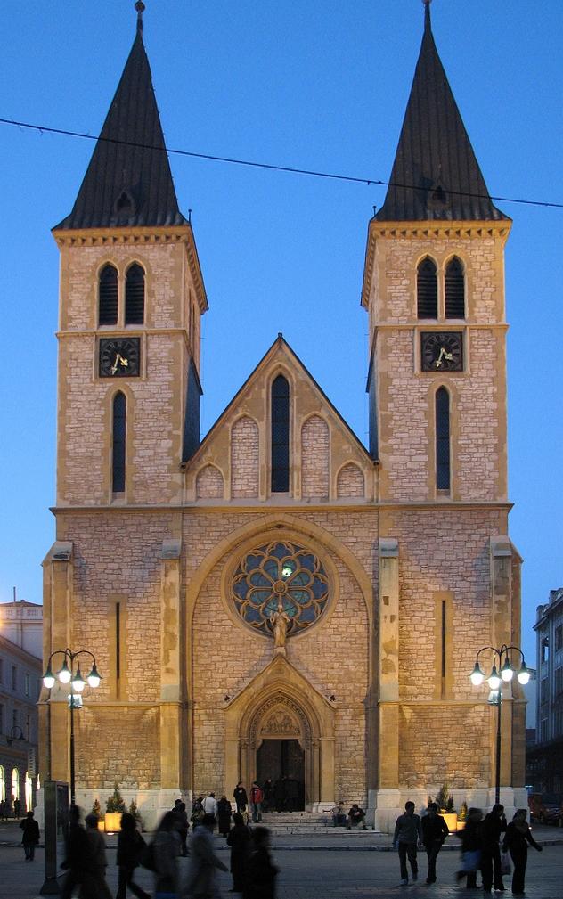 Собор Святейшего Сердца Иисуса, фасад