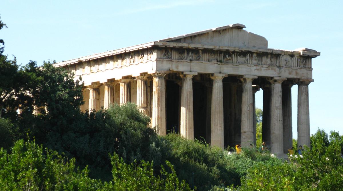 Храм Гермеса на Агоре, Афины