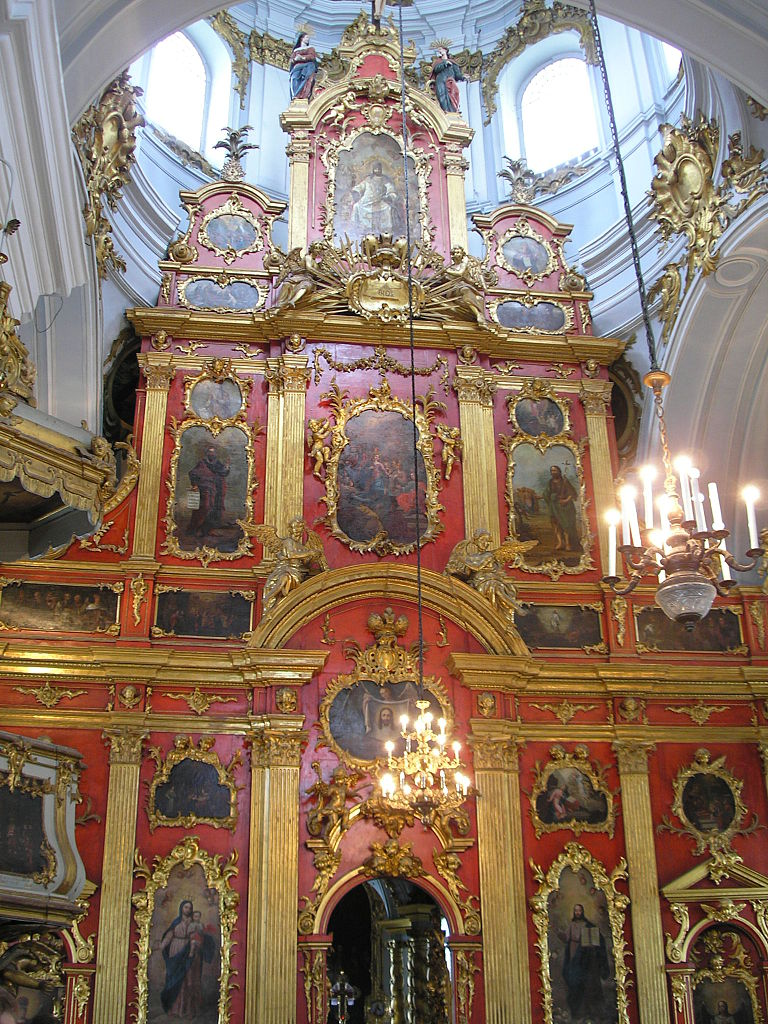 Андреевская церковь в Киеве, иконостас