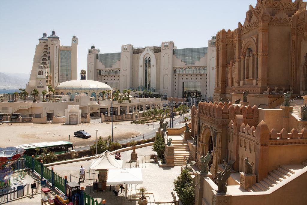 Вид на Город Царей в Эйлате