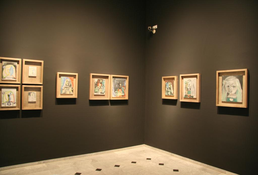 Картины в музее Пикассо, Барселона