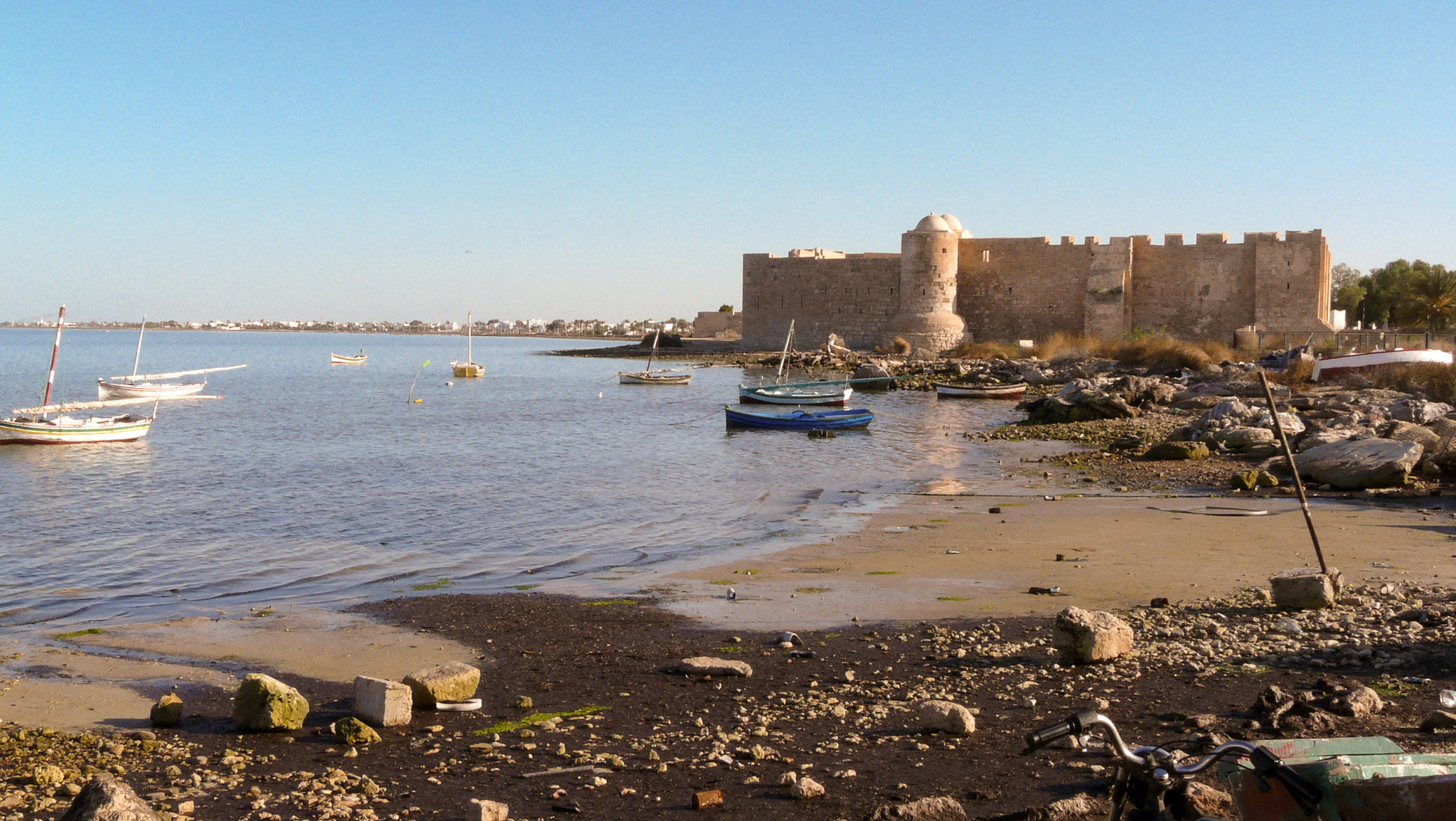 Лагуна Джербы, Тунис