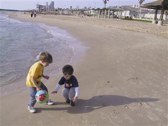 Пляжный футбол в Хайфе