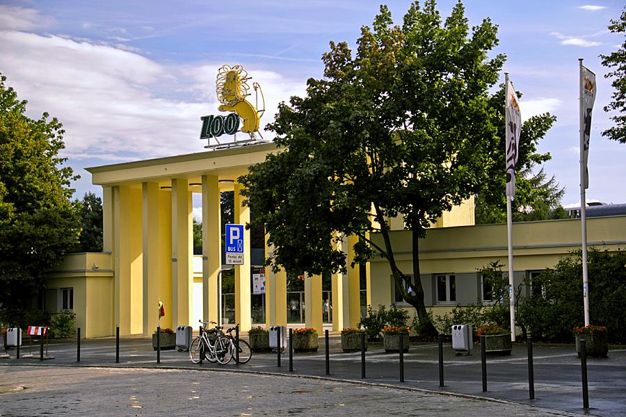 Вроцлавский зоопарк, вход