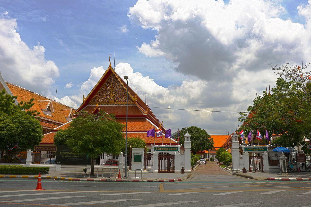 Национальный музей Бангкока, вход
