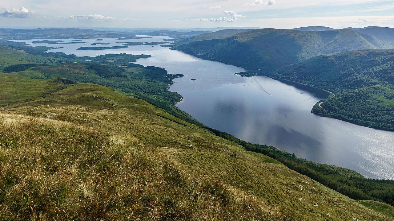 Озеро Лох-Ломонд, Шотландия