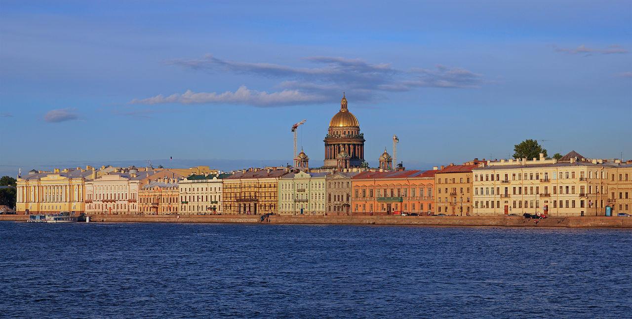Английская набережная, Санкт-Петербург