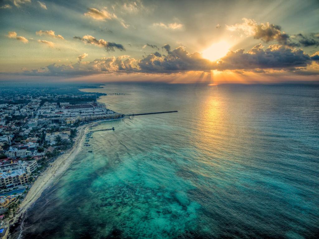 Мексика Курорты на Карибском Море