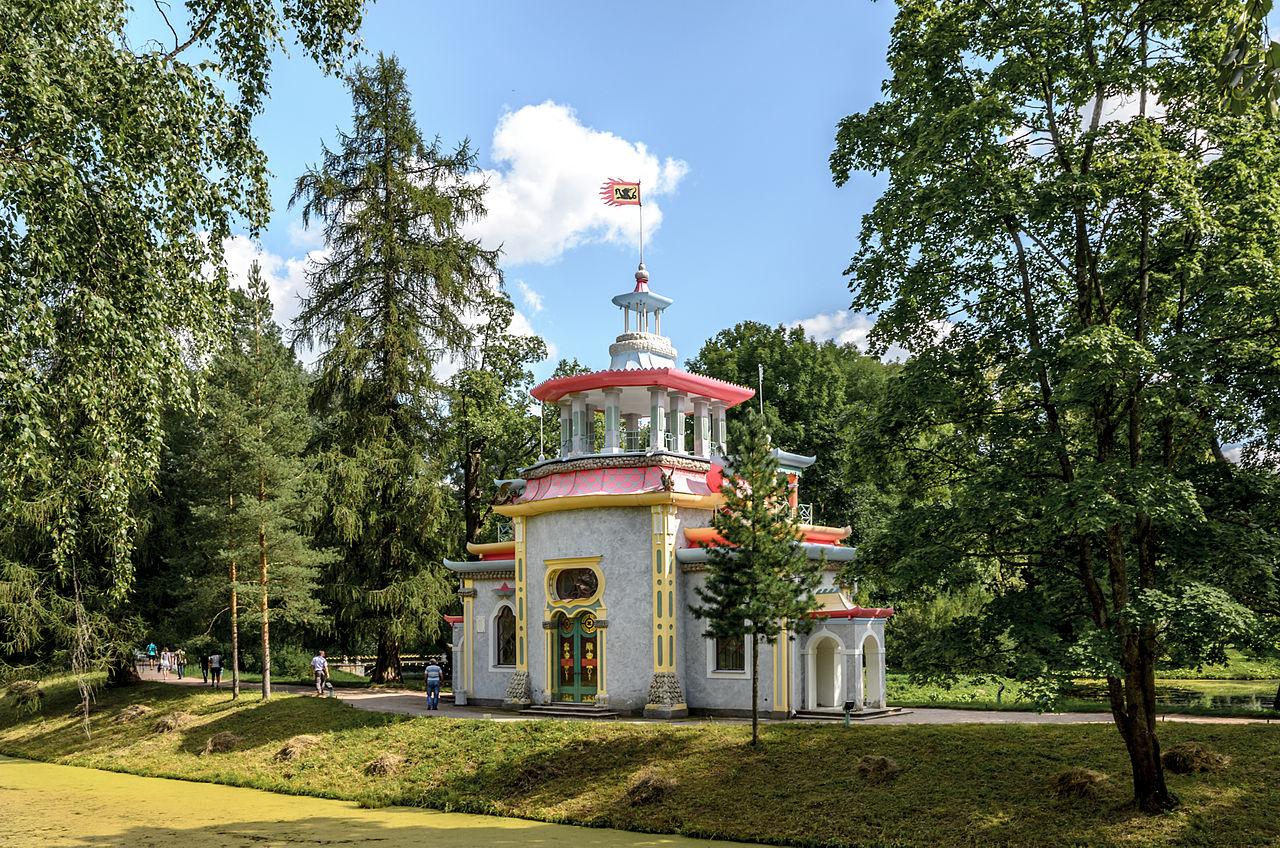 Екатерининский парк в Пушкине, Китайская беседка