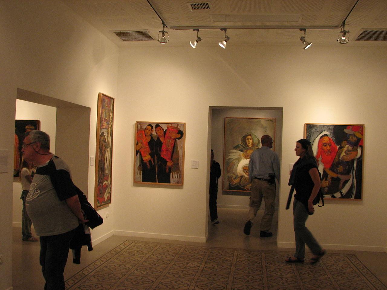 Музей Мане Каца, один из залов