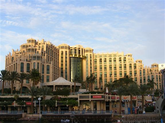 Отель Hilton Queen в Эйлате.JPG