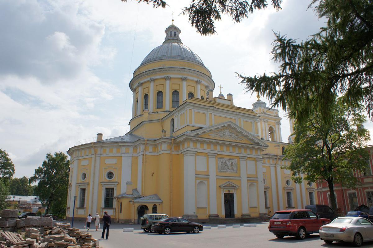 Свято-Троицкий собор, Александро-Невская Лавра, Санкт-Петербург