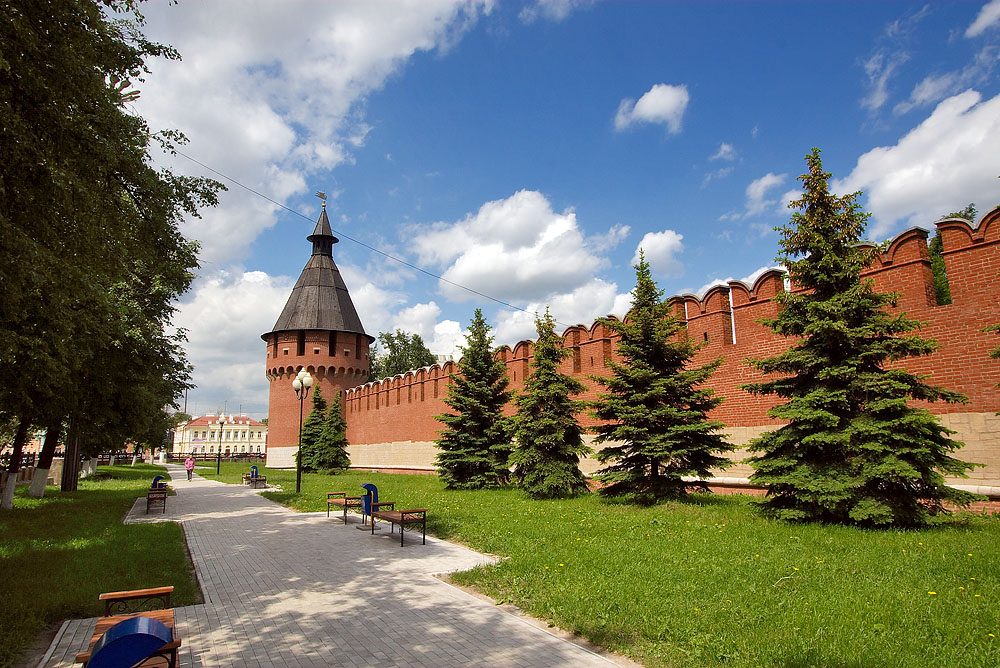 Стены Тульского кремля