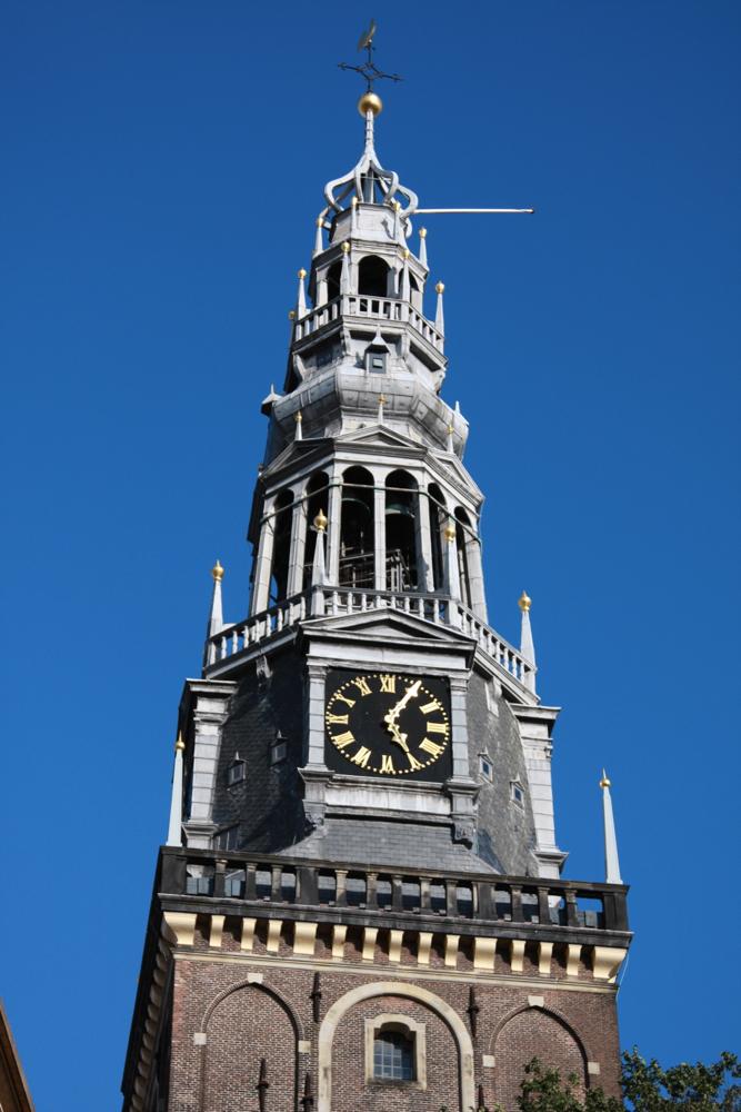 Аудекерк, башня с часами