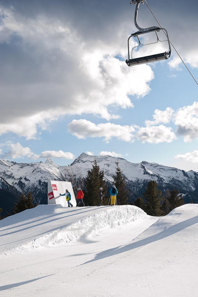 Горнолыжный парк Morea Snowpark, Валь-ди-Фьемме